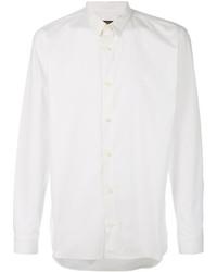Мужская белая классическая рубашка от Z Zegna
