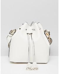 5cb274159397 Купить белую кожаную сумку-мешок - модные модели сумок-мешков (1529 ...