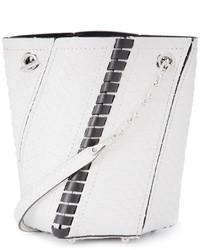 Белая кожаная сумка-мешок от Proenza Schouler