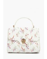 40f6ec38d7b6 Купить белую сумку-саквояж - модные модели сумок-саквояжей (7 ...