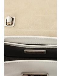 Белая кожаная сумка через плечо Furla купить за 19500 руб