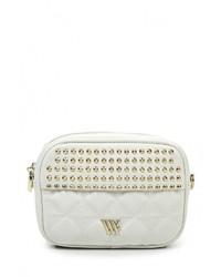 Белая кожаная сумка через плечо от Vera Victoria Vito