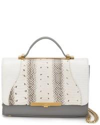 Женская белая кожаная сумочка от Khirma Eliazov