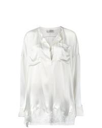 Белая кружевная блузка с длинным рукавом от Faith Connexion