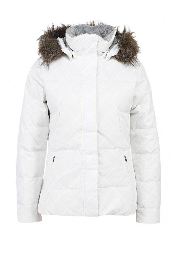 b0b3b99a603 ... Женская белая куртка-пуховик от Columbia ...