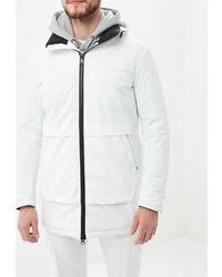 Мужская белая куртка-пуховик от la Biali