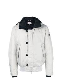 Мужская белая куртка-пуховик от Peuterey