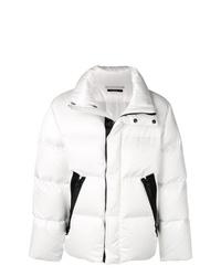 Мужская белая куртка-пуховик от Tom Ford