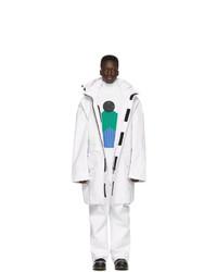 Белая куртка харрингтон