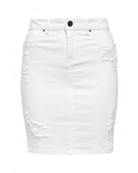 Белая мини-юбка от Vila