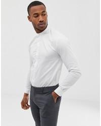 Мужская белая рубашка с длинным рукавом от AVAIL London