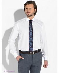 Мужская белая рубашка с длинным рукавом от Greg Horman