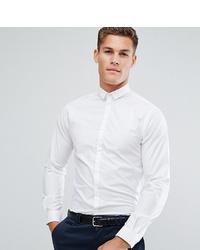 Мужская белая рубашка с длинным рукавом от Noak