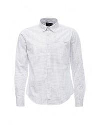 Мужская белая рубашка с длинным рукавом от SPRINGFIELD