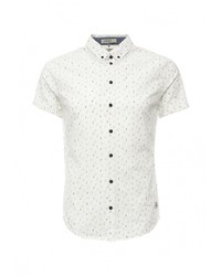 Мужская белая рубашка с коротким рукавом от BLEND