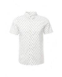 Мужская белая рубашка с коротким рукавом от NATIVE YOUTH