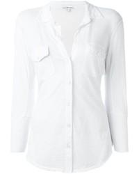 Женская белая рубашка от James Perse