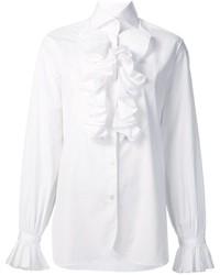 Женская белая рубашка от Ralph Lauren