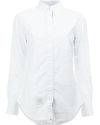 Женская белая рубашка от Thom Browne
