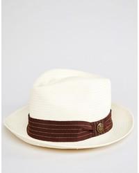 Мужская белая соломенная шляпа от Goorin Bros.