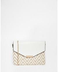fa19317dcb73 Купить женскую белую сумку с узором зигзаг - модные модели сумок (18 ...