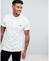 Мужская белая футболка-поло от Lacoste