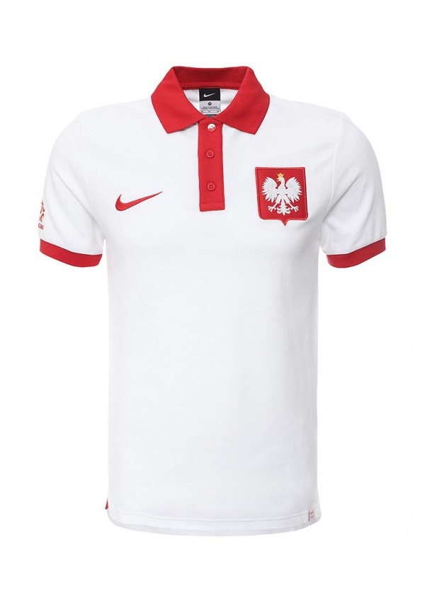 ee255e637da0f Мужская белая футболка-поло от Nike, 2 230 руб. | Lamoda | Лукастик