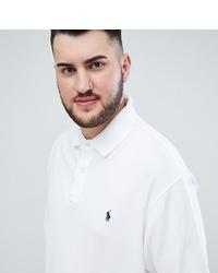 Мужская белая футболка-поло от Polo Ralph Lauren