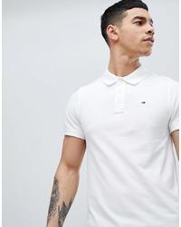 Мужская белая футболка-поло от Tommy Jeans