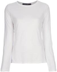 белая футболка с длинным рукавом original 1284009