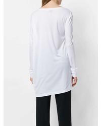 Женская белая футболка с длинным рукавом от A.F.Vandevorst