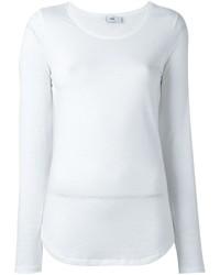 Женская белая футболка с длинным рукавом от Closed
