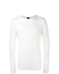 Мужская белая футболка с длинным рукавом от Lot78