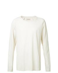 Мужская белая футболка с длинным рукавом от Oyster Holdings