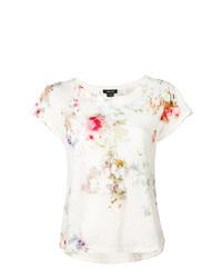 Женская белая футболка с круглым вырезом с принтом тай-дай от Avant Toi