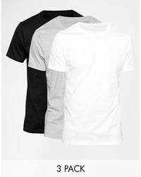 Мужская белая футболка с круглым вырезом от Asos