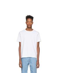 Мужская белая футболка с круглым вырезом от Champion Reverse Weave