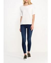 Женская белая футболка с круглым вырезом от Gerry Weber