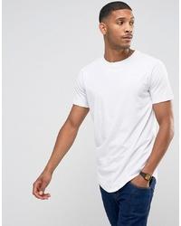Мужская белая футболка с круглым вырезом от Jack & Jones