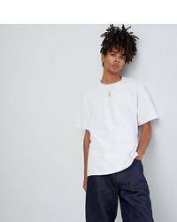 Мужская белая футболка с круглым вырезом от Reclaimed Vintage