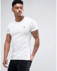 Мужская белая футболка с круглым вырезом от Religion