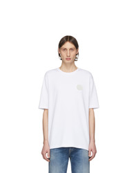 Мужская белая футболка с круглым вырезом от Tiger of Sweden Jeans