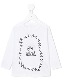 Детская белая футболка для девочке от Stella McCartney