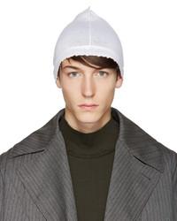 Мужская белая шапка от Damir Doma