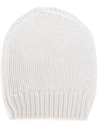Мужская белая шапка от Eleventy