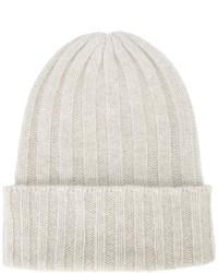 Женская белая шапка от The Elder Statesman