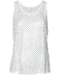 Белая шелковая блузка от Marc Jacobs