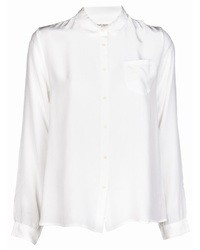 Женская белая шелковая классическая рубашка от Levi's