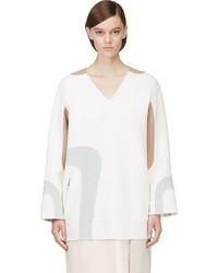 Белая шерстяная туника от Marc Jacobs