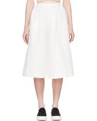 47c25828fa3 Купить белую юбку-миди с вырезом - модные модели юбок-миди (0 ...